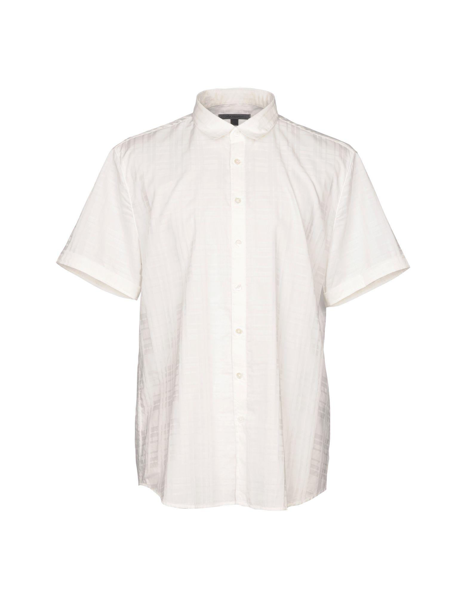 John Varvatos Shirts In White
