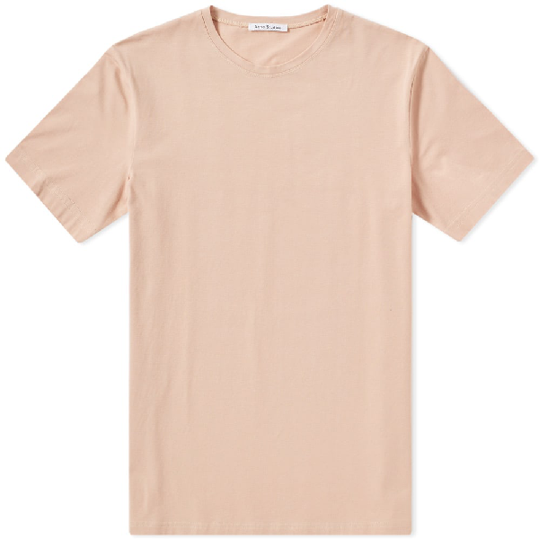 Acne Studios Edvin Stretch-Cotton Jersey T-Shirt In Neutrals