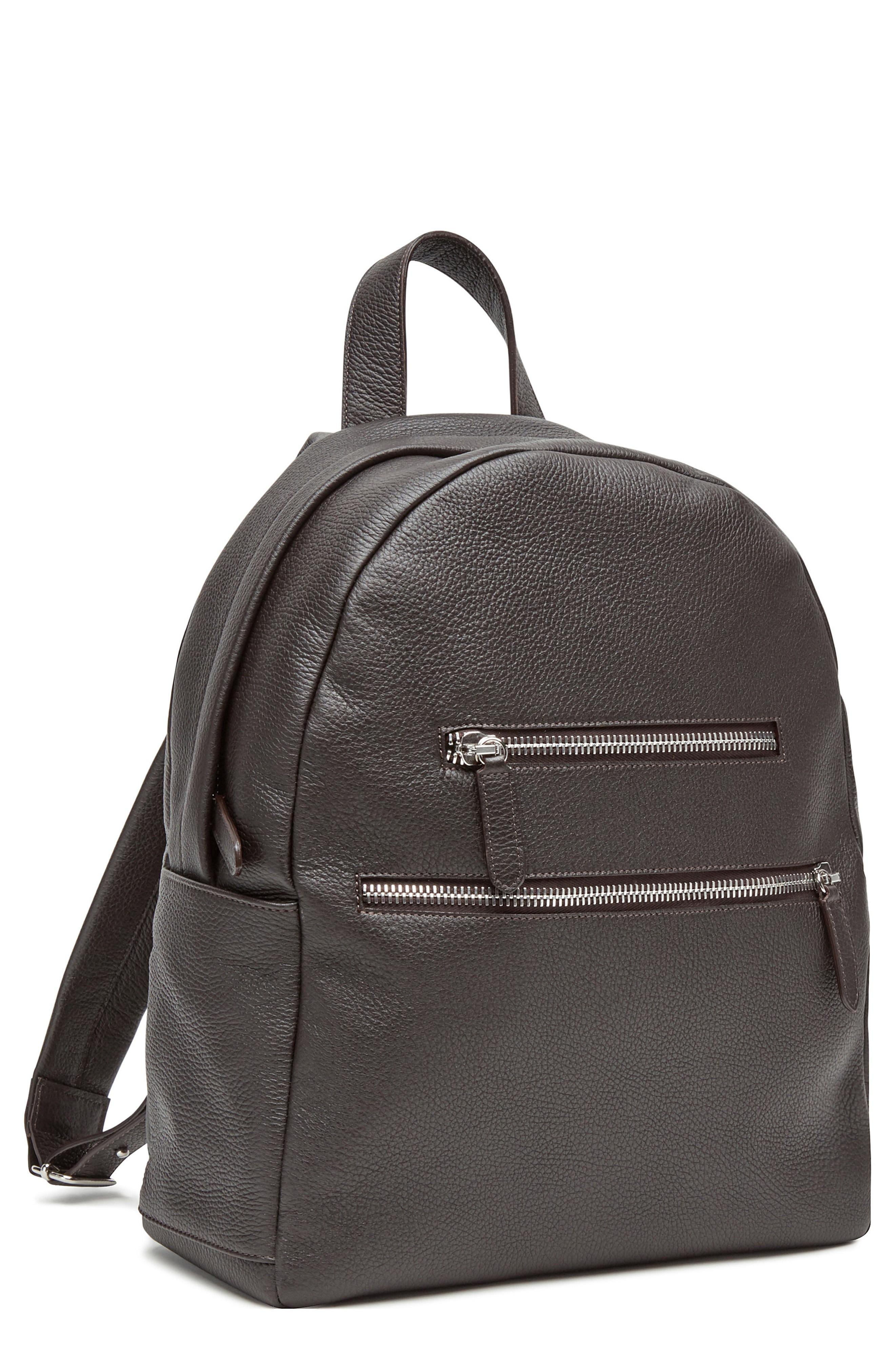 Eleventy Deerskin Backpack - Brown