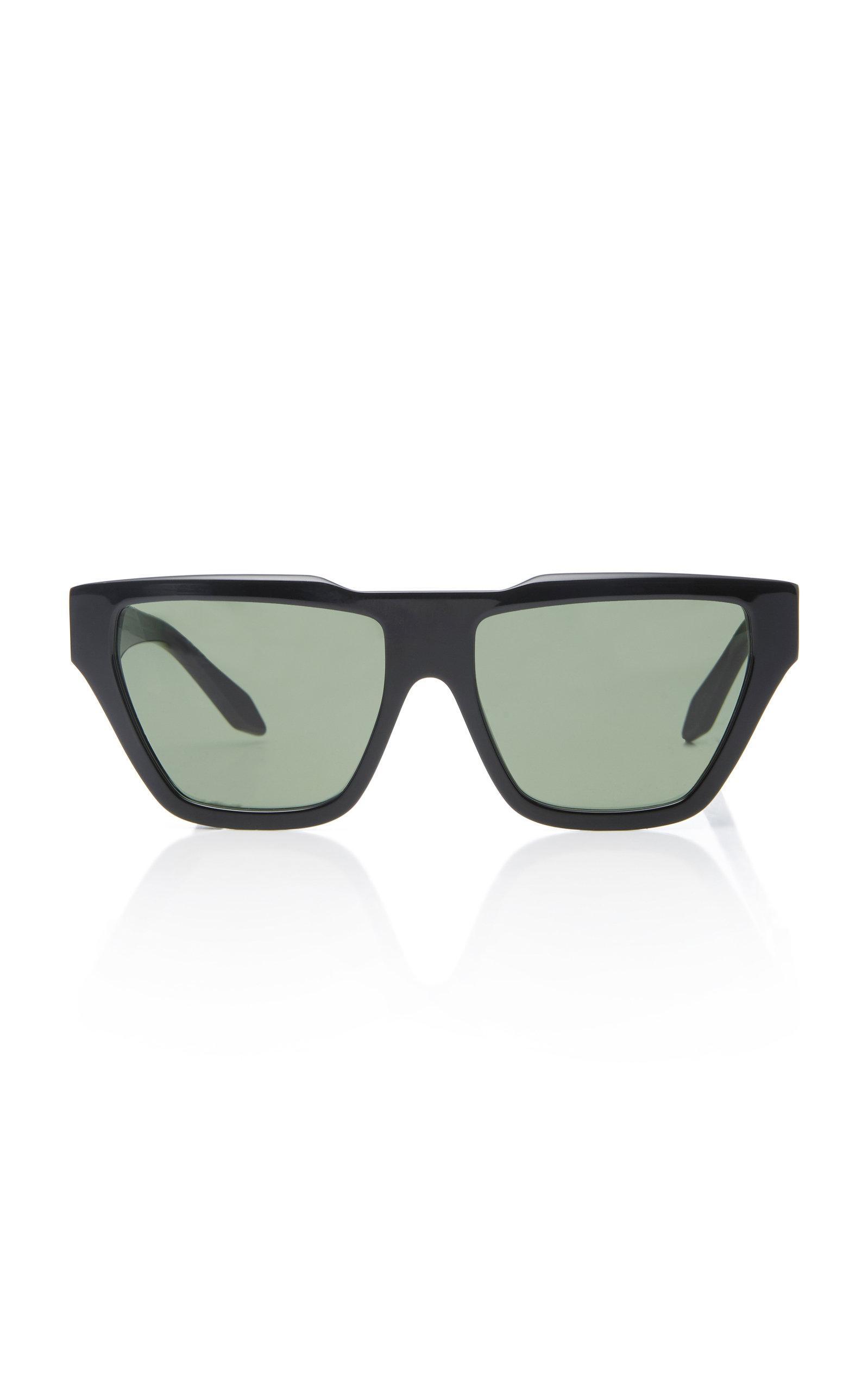 0d2d9f5edf Victoria Beckham Square Cat Sunglasses In Black