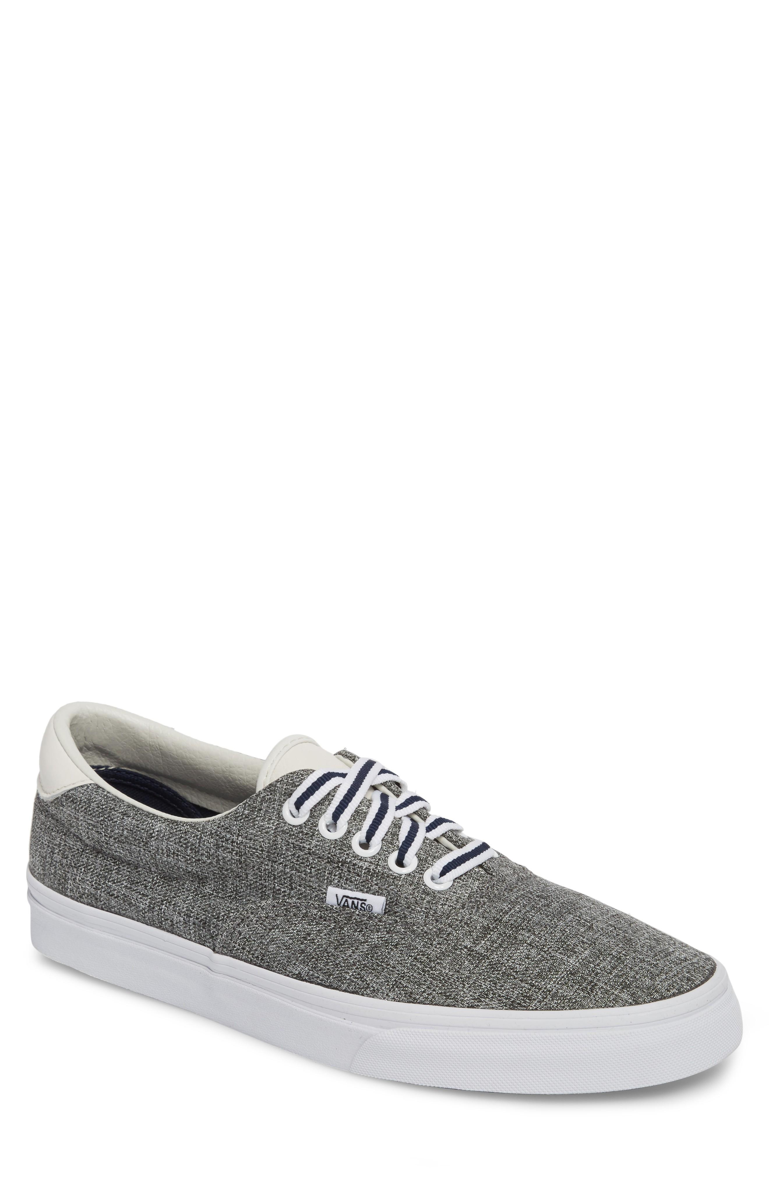 22e3a960ae5cd9 Clean vintage appeal stamps a versatile sneaker shaped from classic  chambray for cool texture. Style Name  Vans  Era 59  Sneaker (Men).