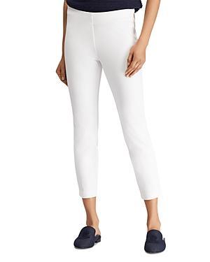Lauren Ralph Lauren Women/'s Stretch Twill Skinny Ankle Pants