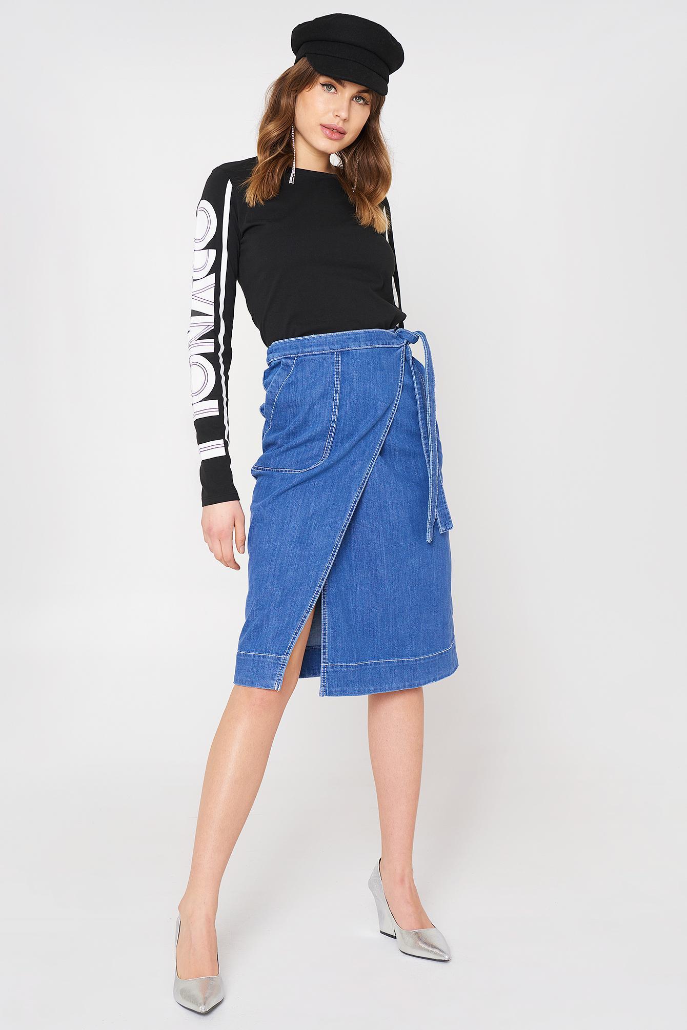 Tommy Hilfiger Lylyan Skirt Blue