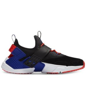 check out 8341b c93a1 Nike Men s Air Huarache Run Drift Premium Casual Sneakers From Finish Line  In Black Rush