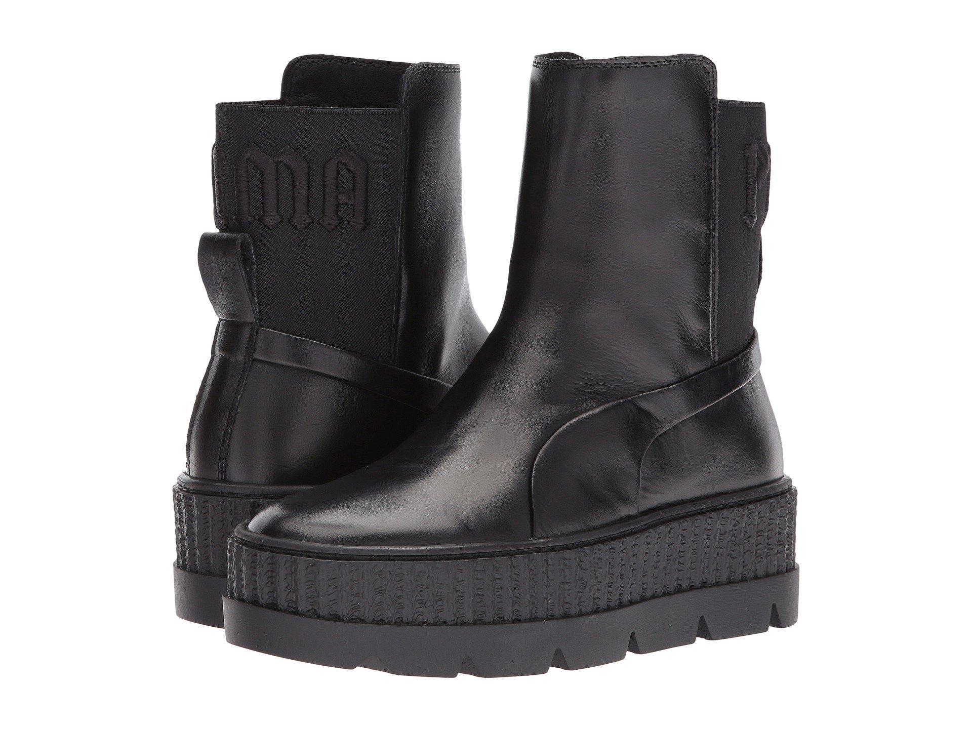 Puma X Fenty By Rihanna Chelsea Sneaker Boot In  Black