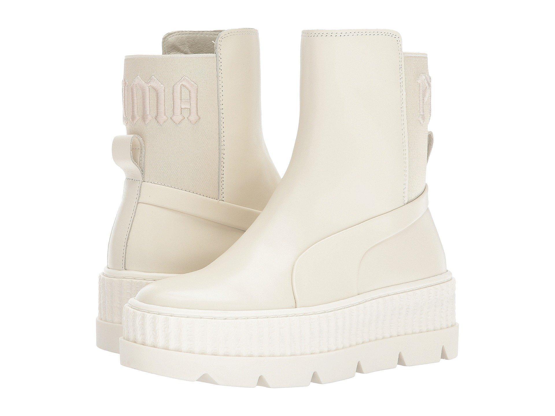 Puma X Fenty By Rihanna Chelsea Sneaker Boot, Vanilla Ice