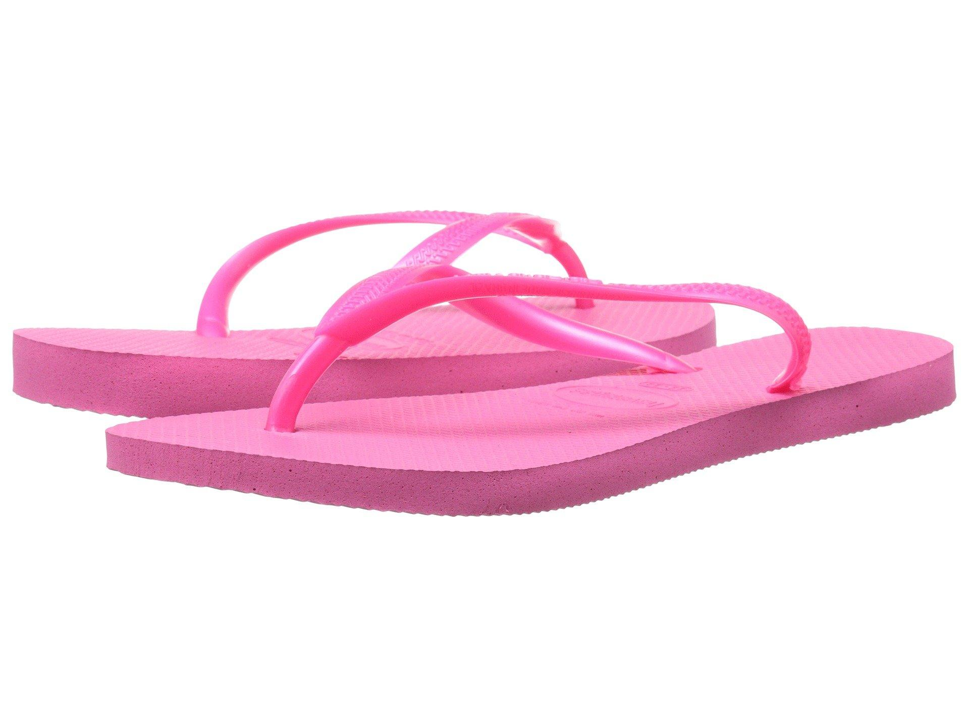 ee623c5df Havaianas Slim Flip Flops In Shocking Pink