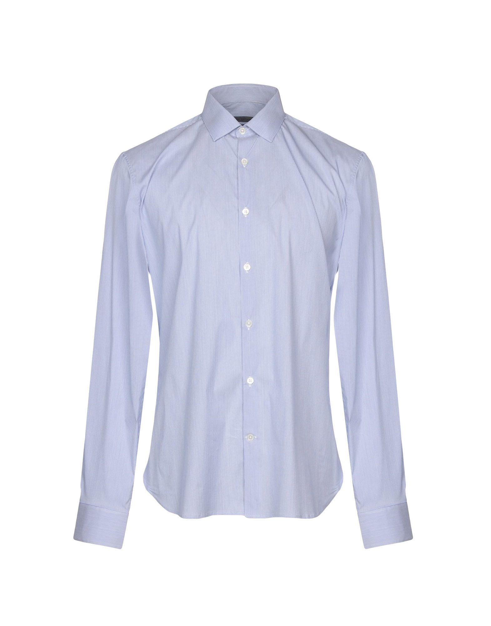 John Varvatos Shirts In Azure
