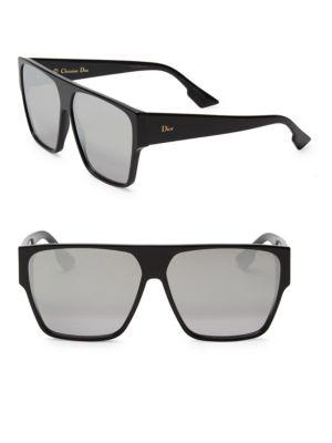 ed45a03521 Dior 62Mm Hit Flat Top Sunglasses In Black