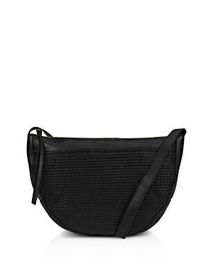 Kooba Curacao Leather Shoulder Bag In Black/Gunmetal