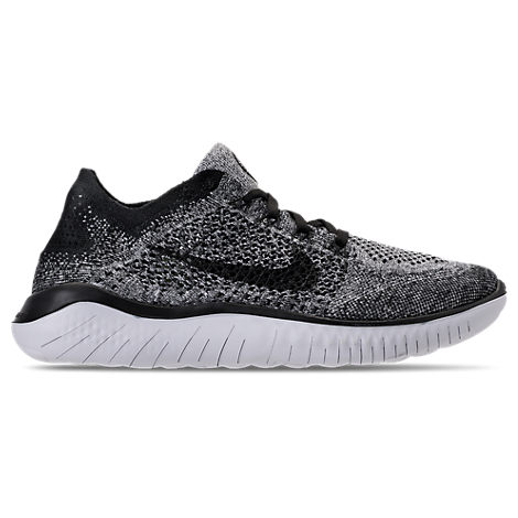 the best attitude 0eeff 35132 Nike Men s Free Run Flyknit 2018 Running Sneakers From Finish Line In White