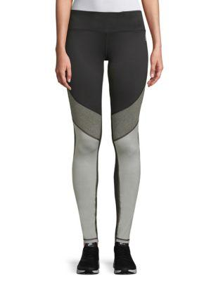 Reebok Move Colorblock Leggings In Black