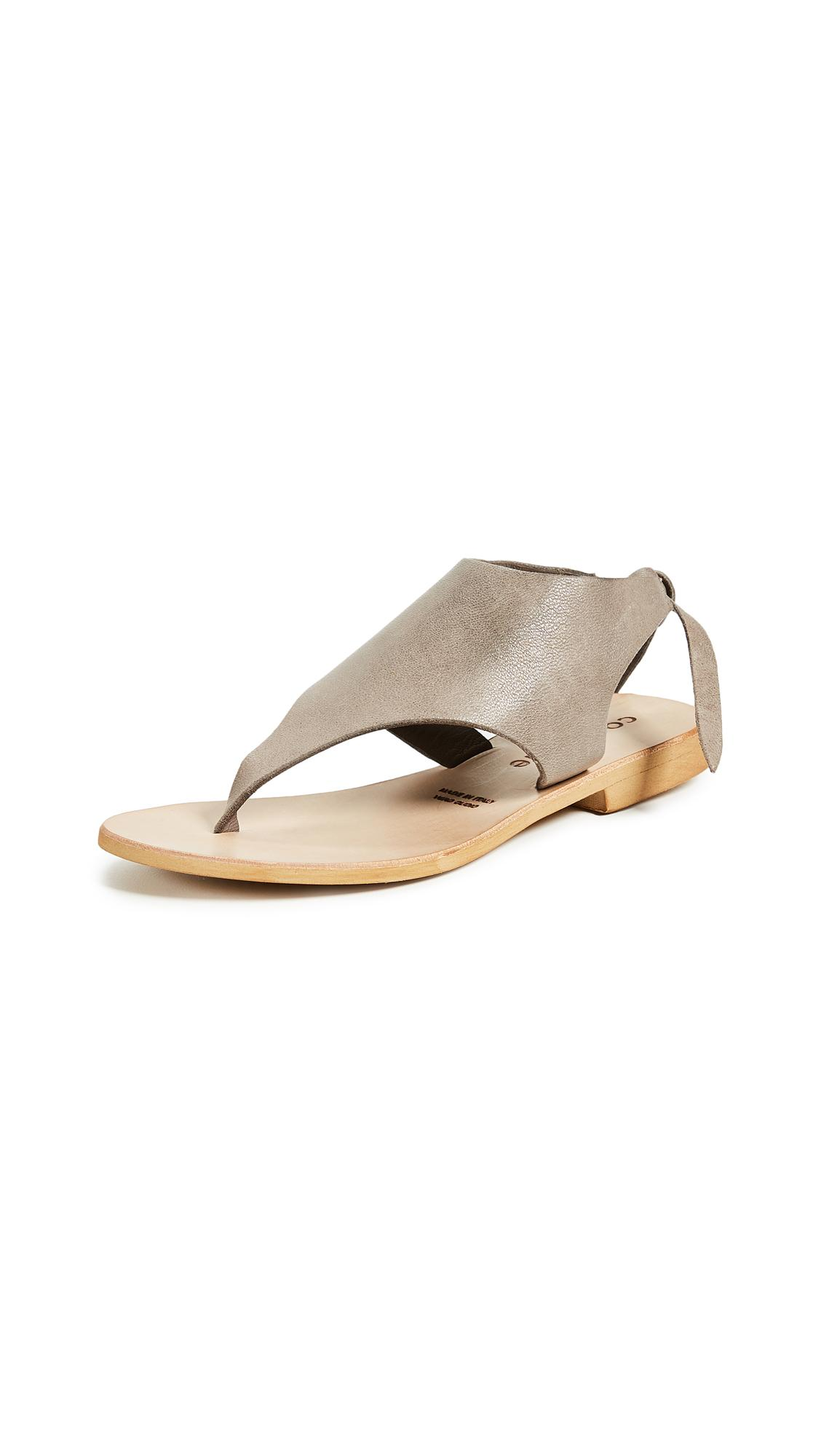 d1f2c33a3429 Cocobelle Tye Sandals In Gray