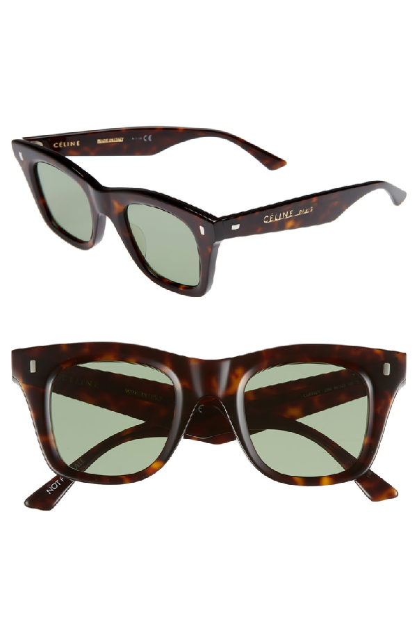 d2d4067dafb Celine Square Acetate Sunglasses In Nocolor