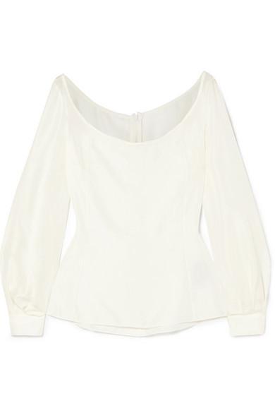 516d78737145e Deitas Abi Silk Blouse In White