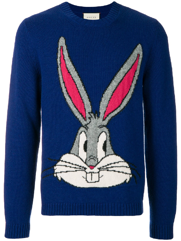9c5f7a28 Gucci Bugs Bunny Guccy Jumper In Blue   ModeSens
