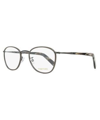 c62b334ac9 Tom Ford Oval Eyeglasses Tf5333 045 Size  51Mm Ruthenium Brown Horn Ft5333