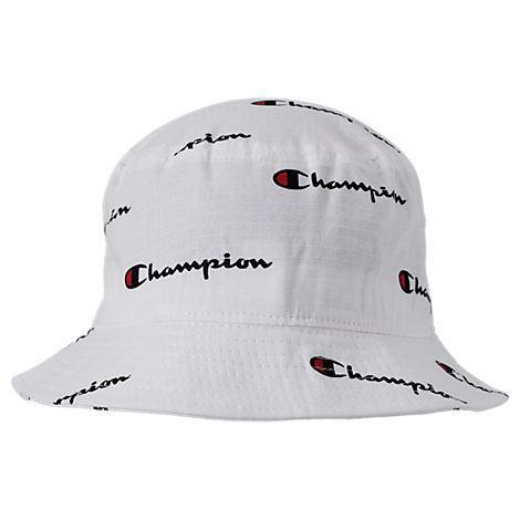 6ef385374e897 Champion All Over Script Reverse Weave Bucket Hat