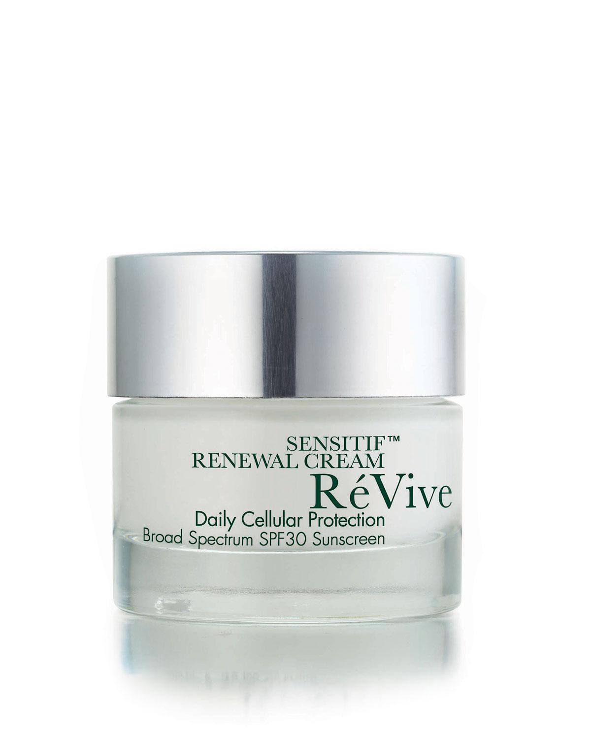 Revive Sensitif™ Renewal Cream Daily Cellular Protection Broad Spectrum Spf 30 Sunscreen