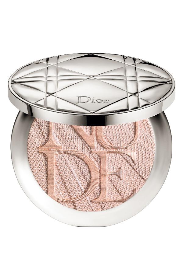 Dior Skin Nude Air Luminizer Glow Addict Holographic Sculpting Powder - 001 Holo Pink
