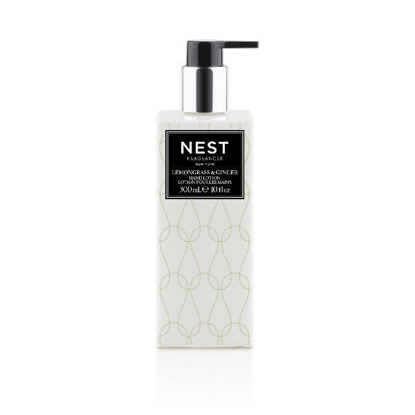 Nest Fragrances Lemongrass & Ginger Hand Lotion, 10 Oz./ 300 Ml
