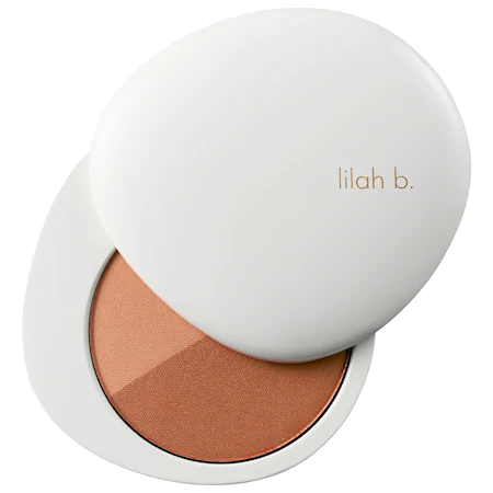 Lilah B Bronzed Beauty™ Bronzer Duo B. Sunkissed 0.32 oz/ 9 G In B.sun-kissed