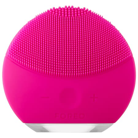 Foreo Luna Mini 2 Facial Cleansing Brush For All Skin Types Fuchsia