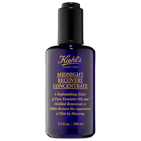 Kiehl's Since 1851 1851 Midnight Recovery Concentrate 3.4 oz/ 100 ml In 100ml