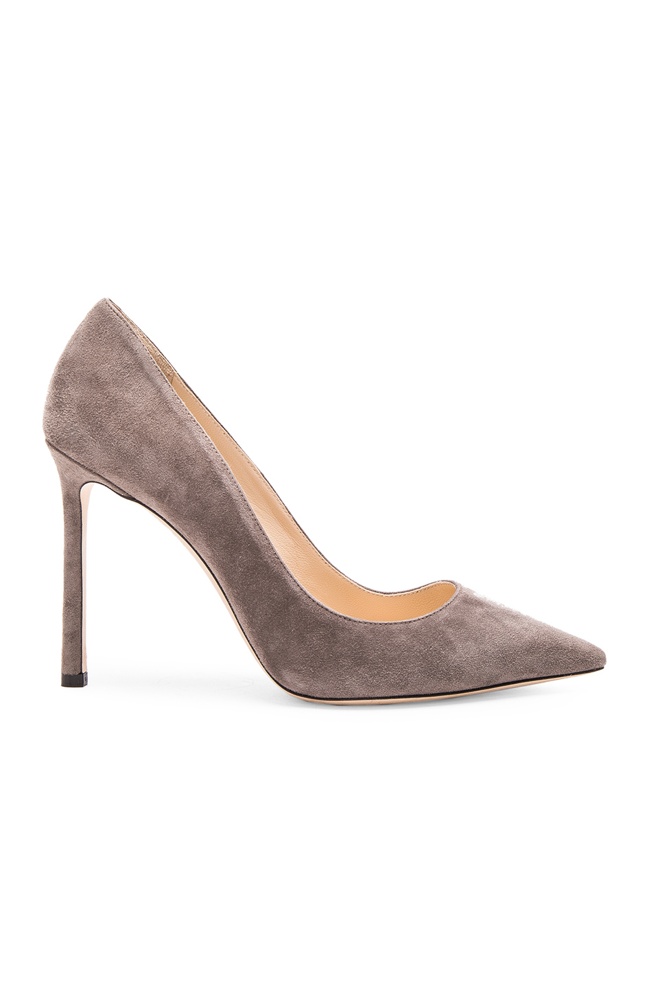 11dacfd59 Jimmy Choo Romy 85 Suede Pumps In Taupe Grey | ModeSens