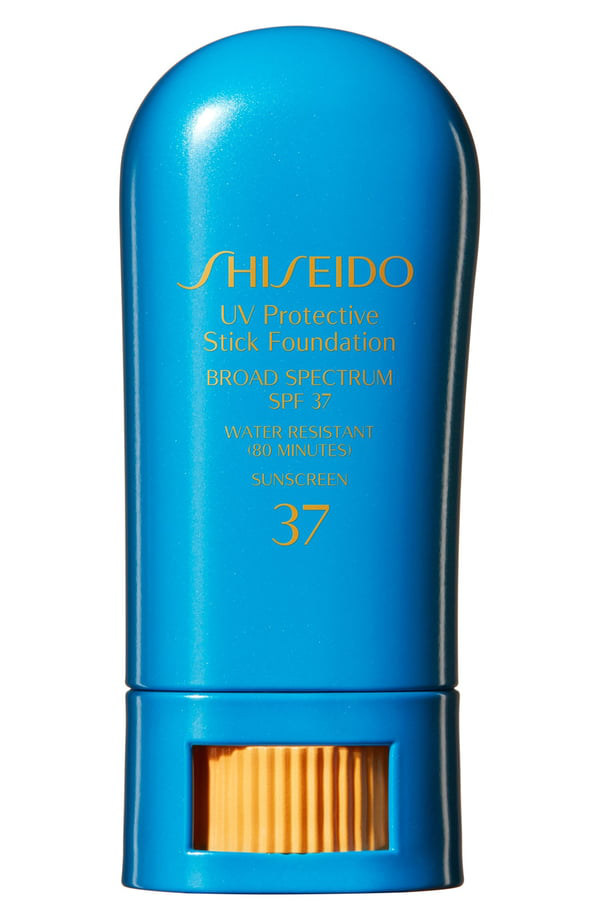 Shiseido Uv Protective Stick Foundation Broad Spectrum Spf 37 In Fair Ivory