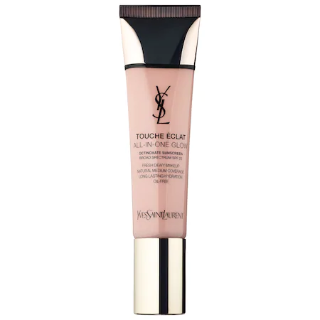 Saint Laurent Touche Eclat All-in-one Glow Foundation Br30 Cool Almond 1.01 oz/ 30 ml