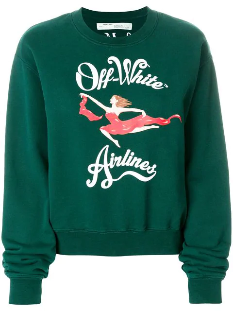 43b8809f69c Off-White Off White C/O Virgil Abloh Women's Green Off Airlines ...