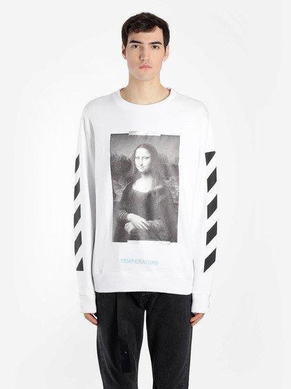 2f5d14131e9d Off-White Off White C O Virgil Abloh Men s White Diag Monalisa Long Sleeves
