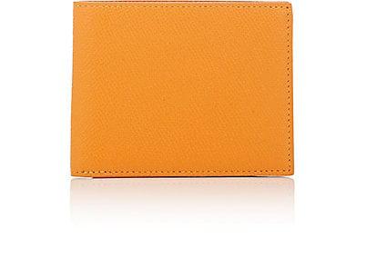 Barneys New York Leather Billfold - Beige, Tan