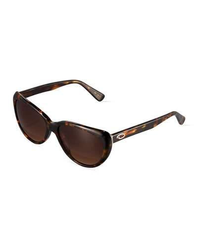 9f530165d3800 O By Oscar De La Renta Small Extreme Cat-Eye Sunglasses