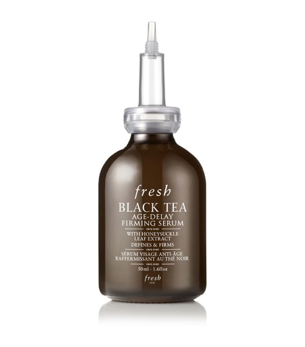 Fresh Black Tea Age-delay Firming Serum 1 oz/ 30 ml In White