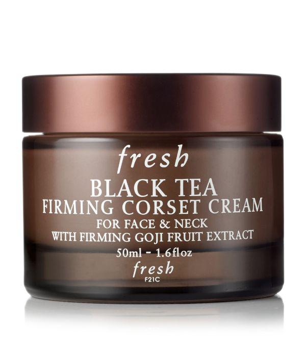 Fresh Black Tea Corset Cream Firming Moisturizer 1.6 oz/ 50 ml In White