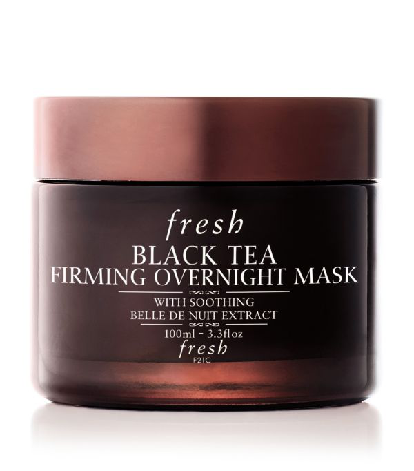 Fresh Black Tea Firming Overnight Mask 3.3 oz/ 100 ml In White