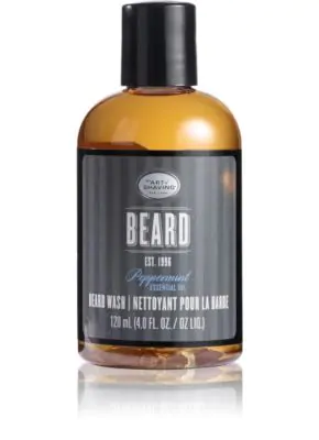 The Art Of Shaving Beard Wash - Peppermint Essential Oil 4 Oz/ 120 Ml In No Color