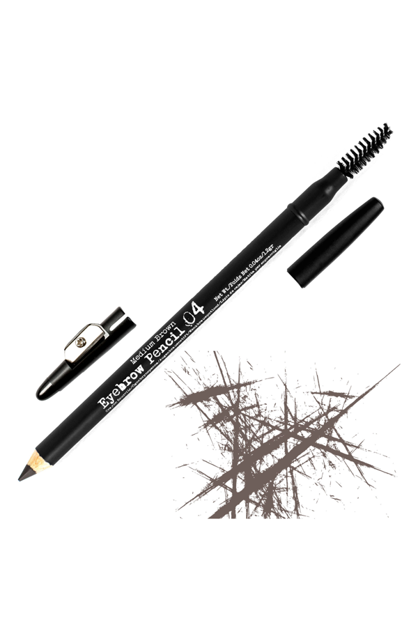 The Brow Gal Eyebrow Pencil In 04 Medium Brown
