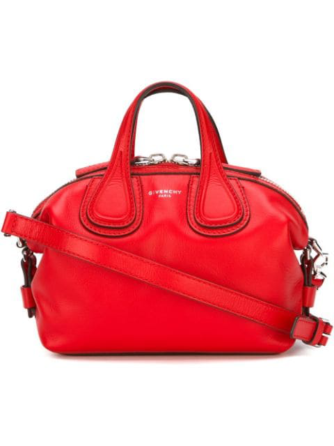 Givenchy  Red New Nightingale Shoulder Bag