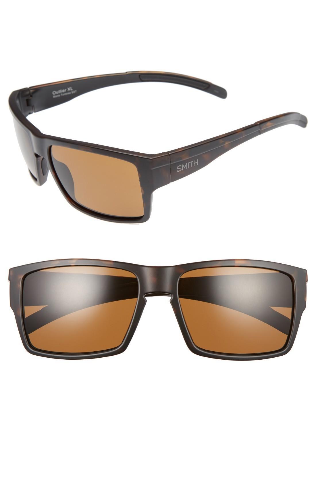 f8e967e04c Smith Outlier Xl 58Mm Polarized Sunglasses - Matte Tortoise  Brown ...