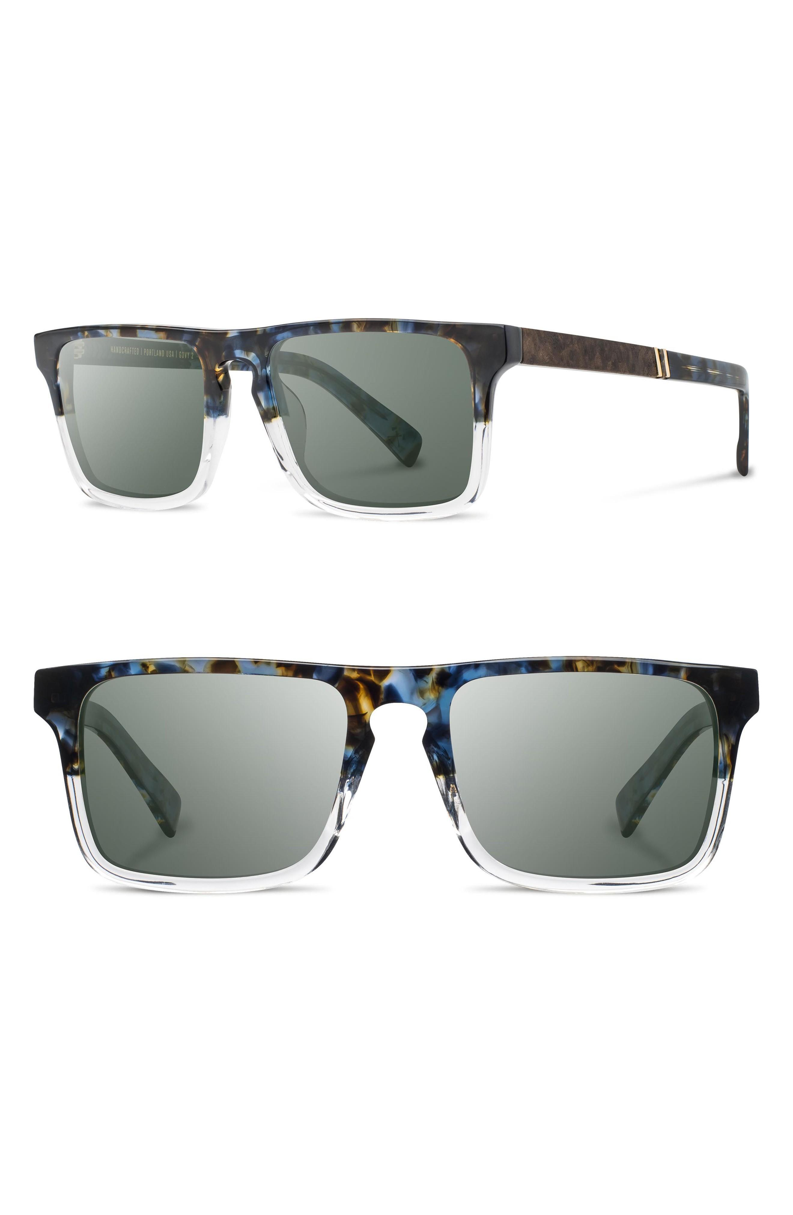 f427c5b35b Shwood  Govy 2  53Mm Sunglasses - Blue Nebula  Elm  G15