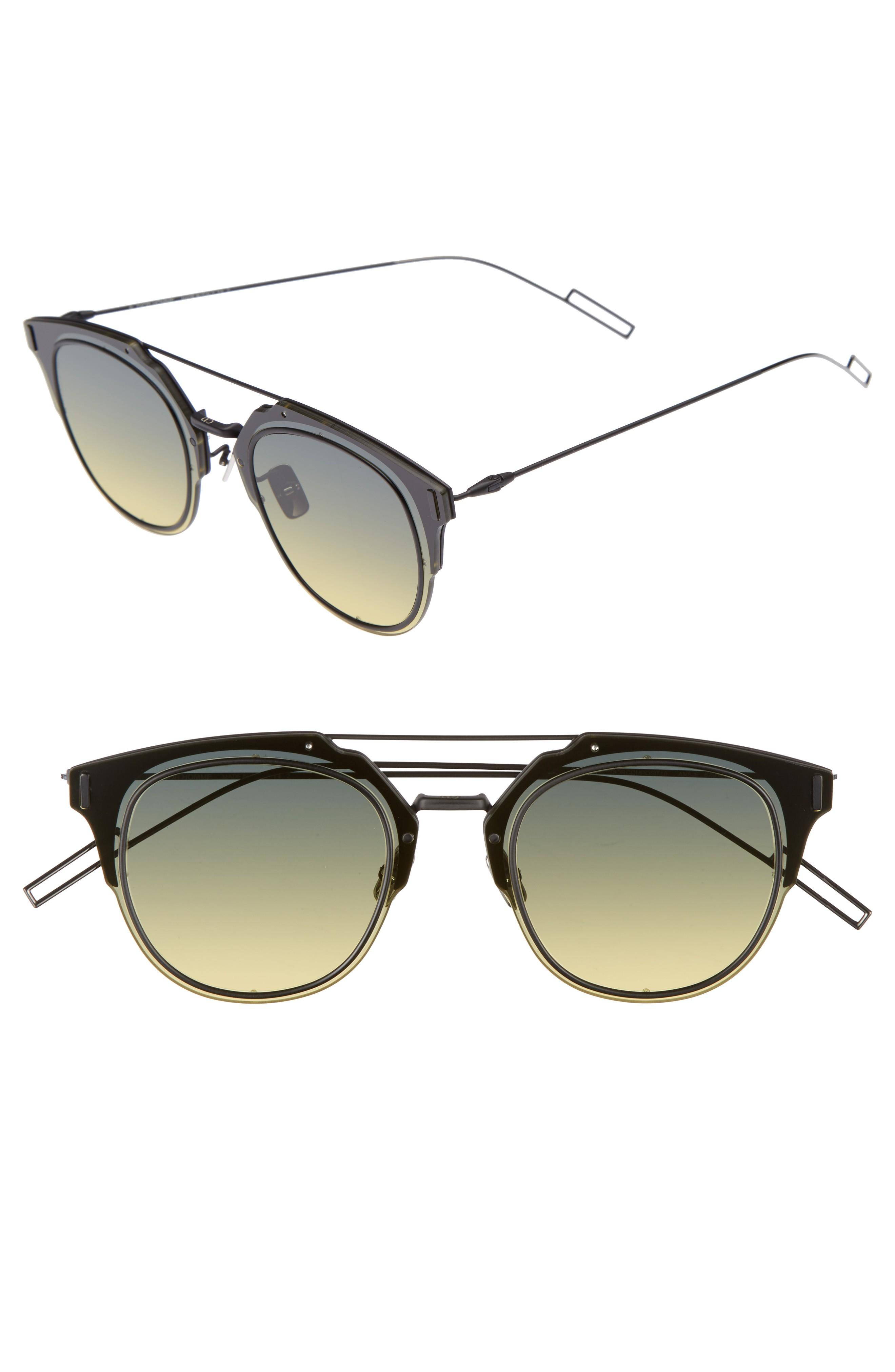 5de2028ea3 Dior Homme  Composit 1.0S  62Mm Metal Shield Sunglasses - Black Dark  Ruthenium