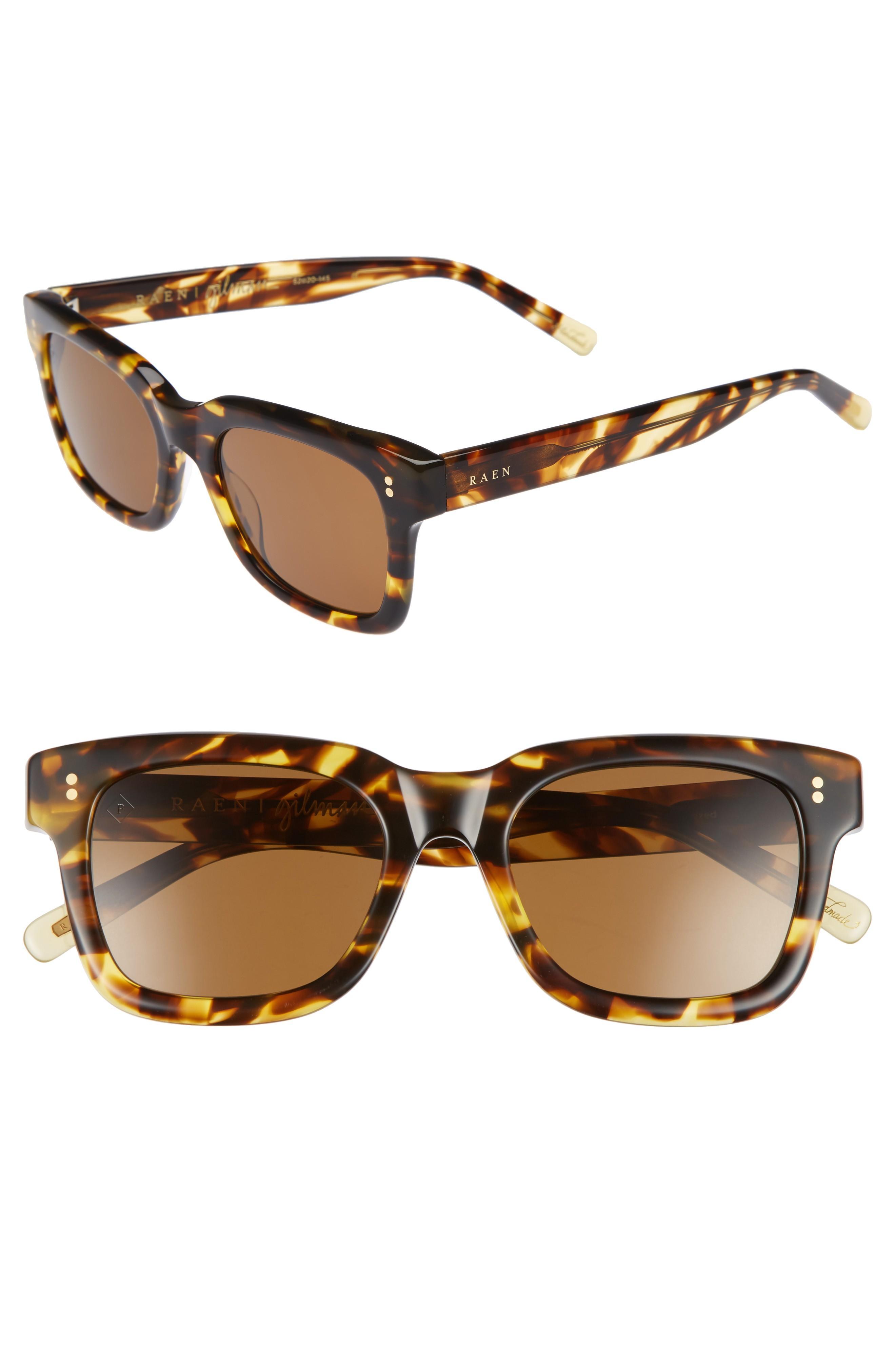 e2a9b466fdb Raen Gilman 52Mm Polarized Sunglasses - Tokyo Tortoise  Brown