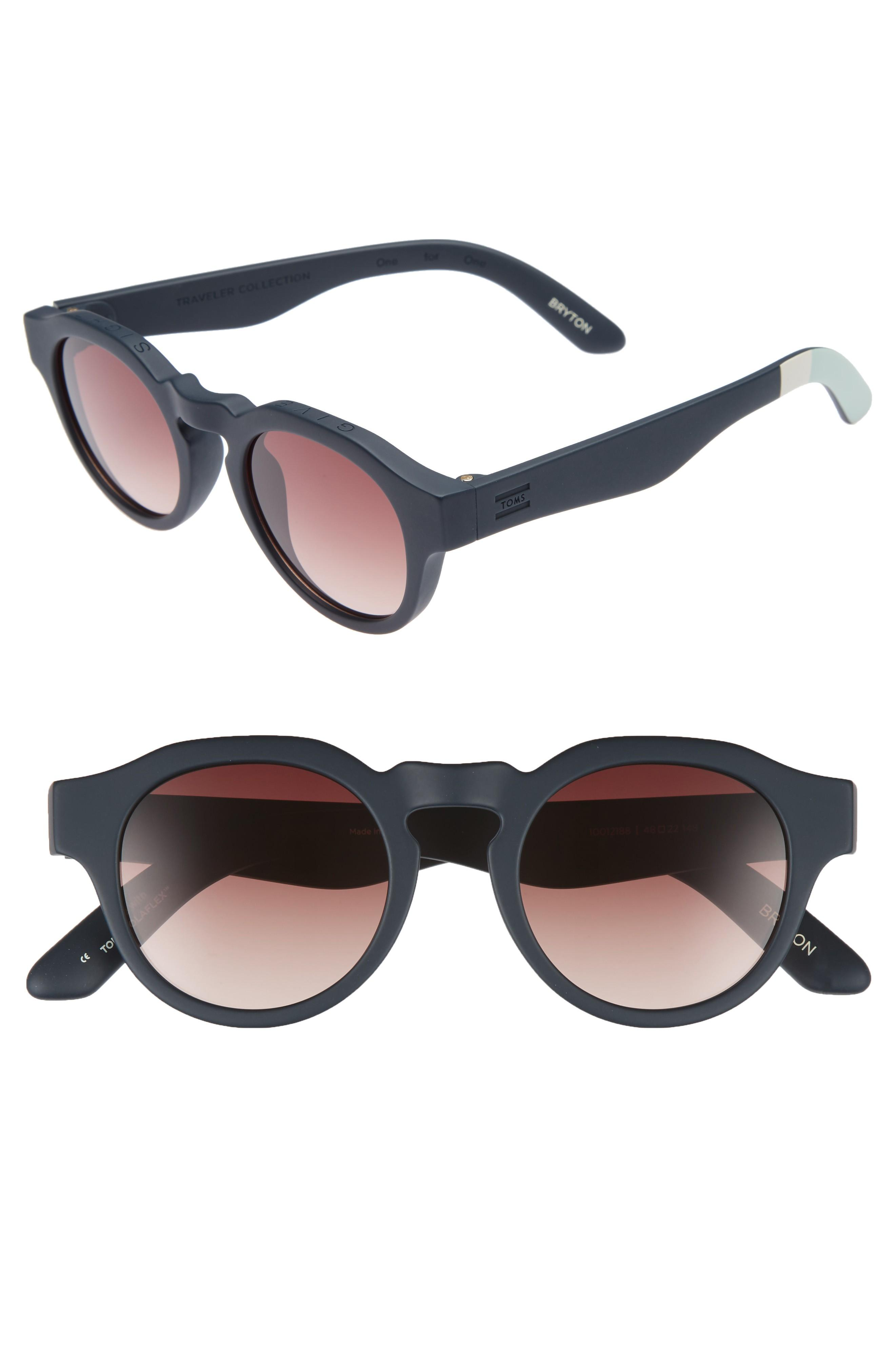 7c1c354b85 Toms Bryton 48Mm Sunglasses - Blueberry | ModeSens