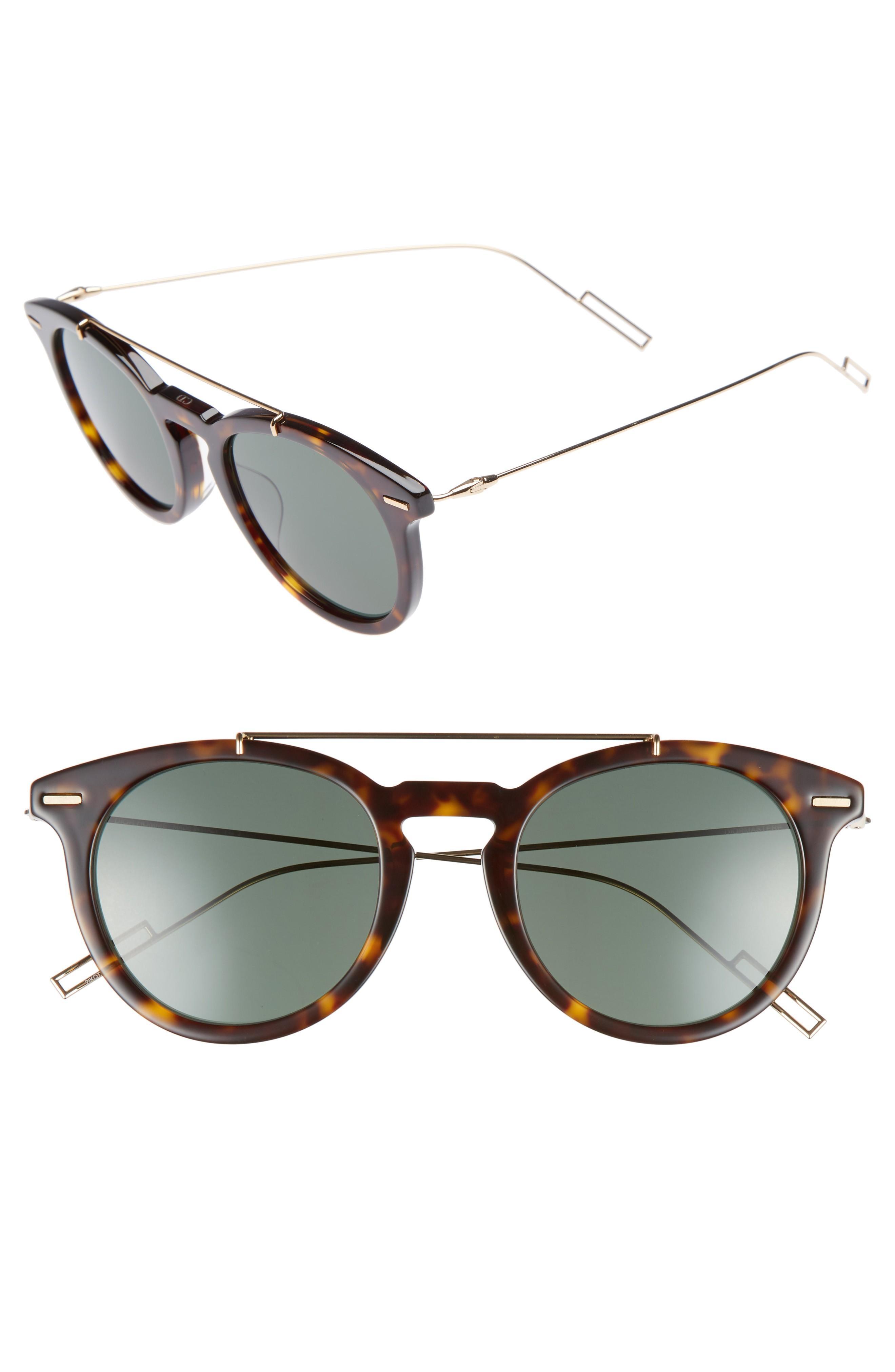 d7db8e39ec03d Dior Homme Master 51Mm Sunglasses - Havana Gold