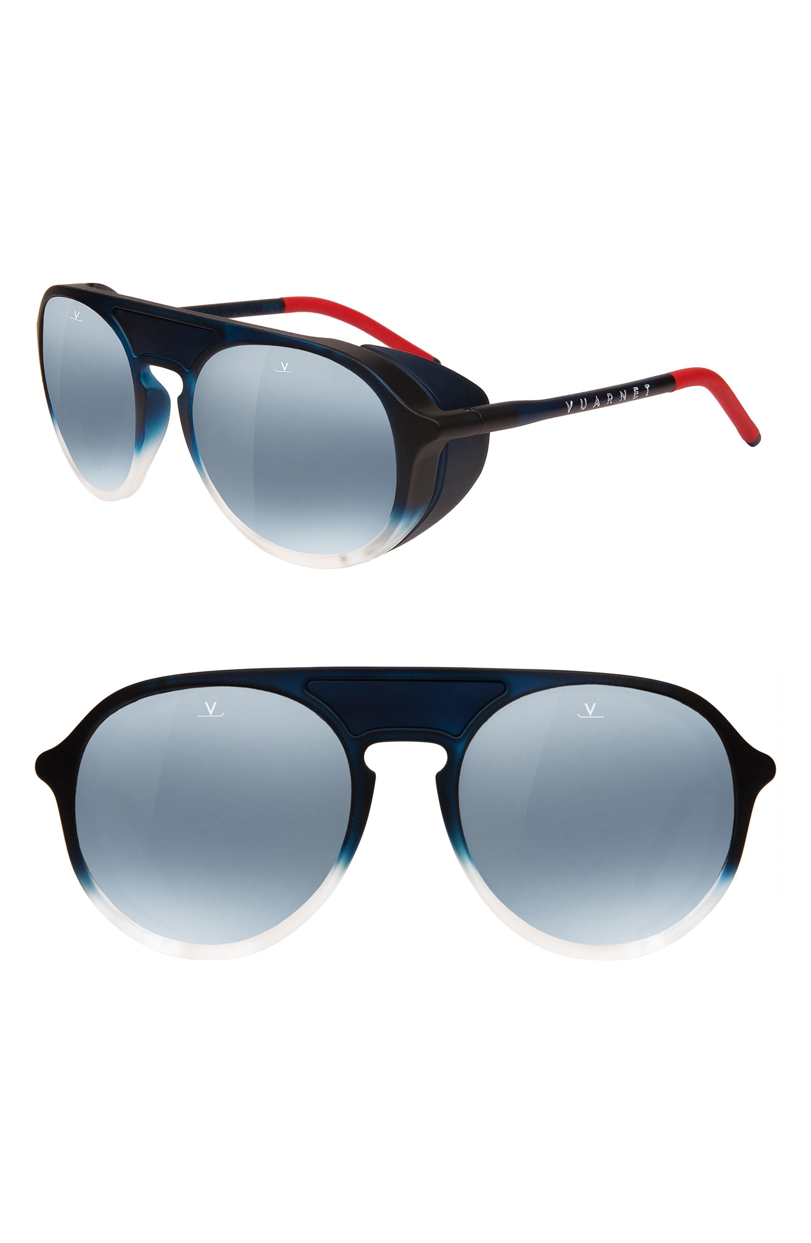 fc4c46f99621 Vuarnet Ice 51Mm Polarized Aviator Sunglasses - Blue Polarlynx ...