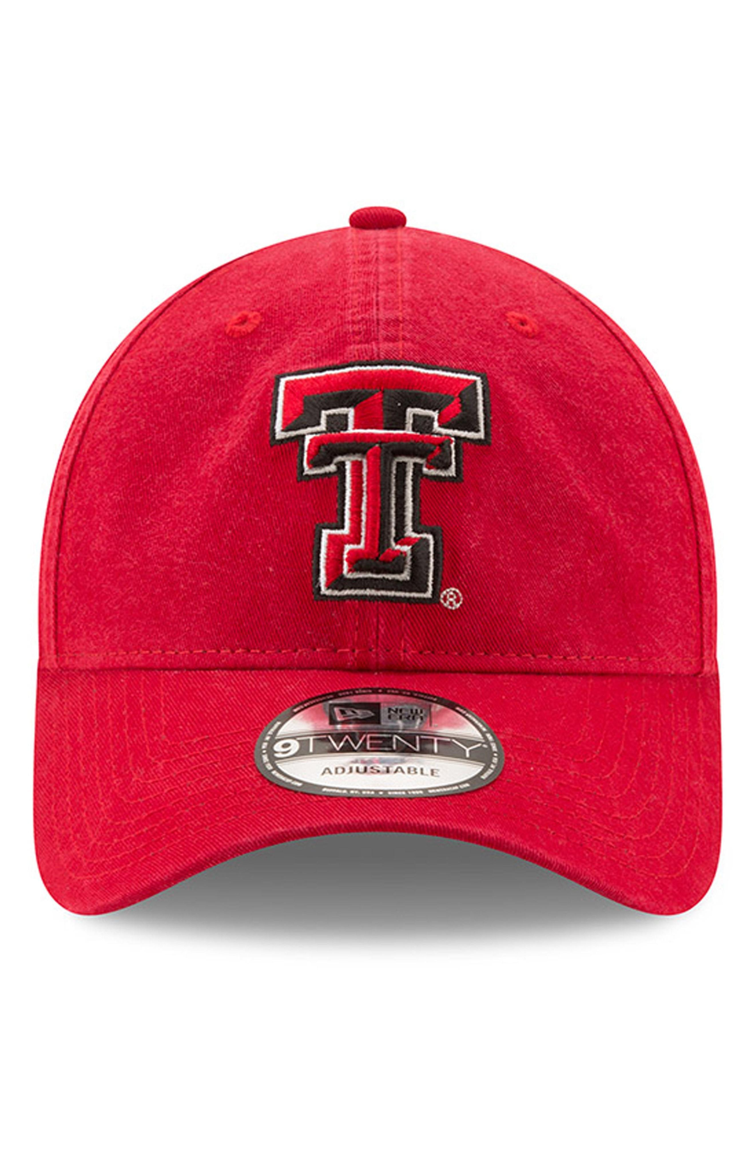 New Era Collegiate Core Classic - Texas Tech Red Raiders Baseball Cap - Red