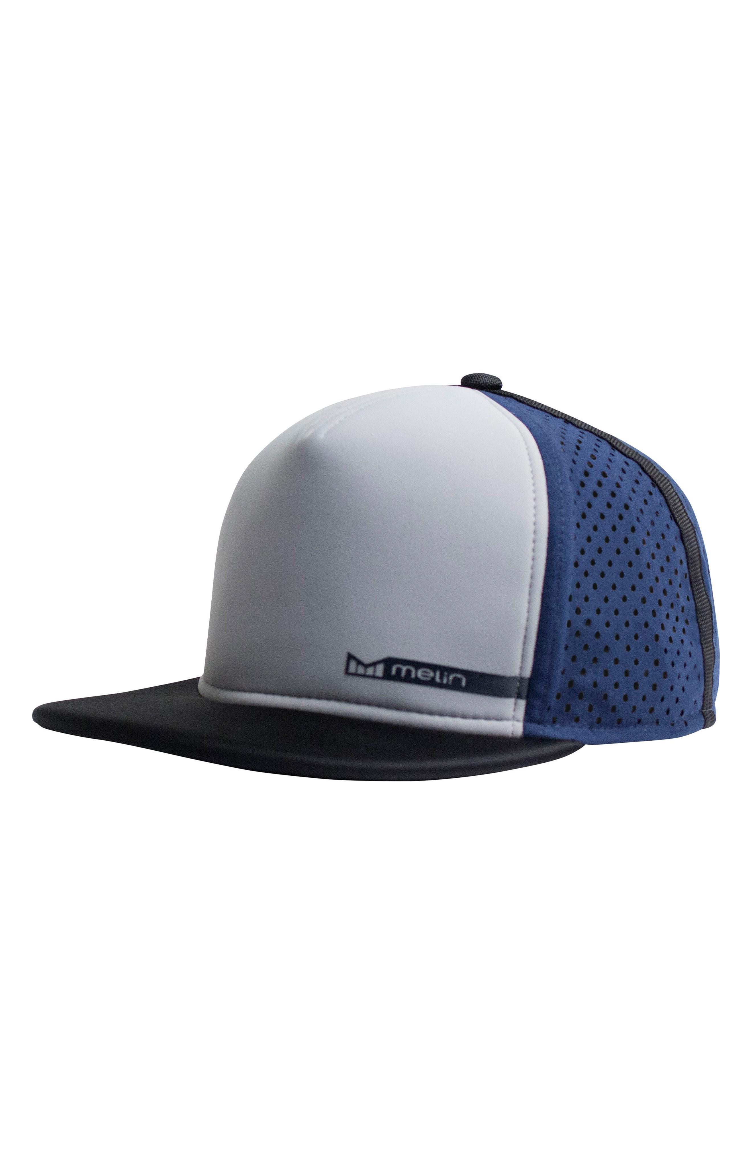 f14e04deb 'Amphibian' Split Fit Snapback Baseball Cap - Grey in Grey/ Blue